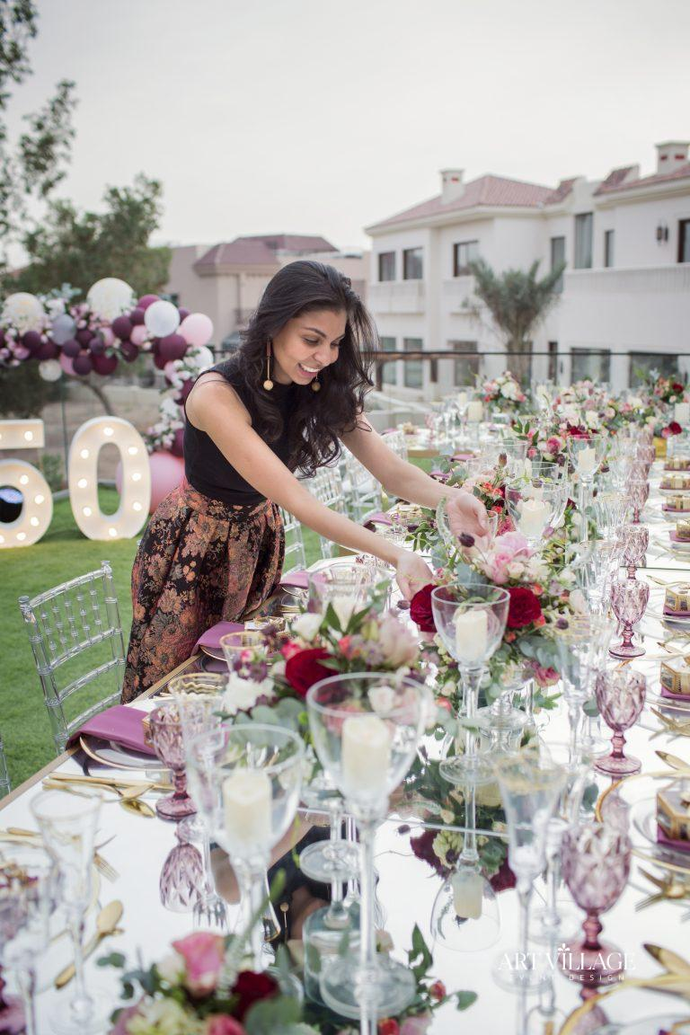 event planner and decorator UAE