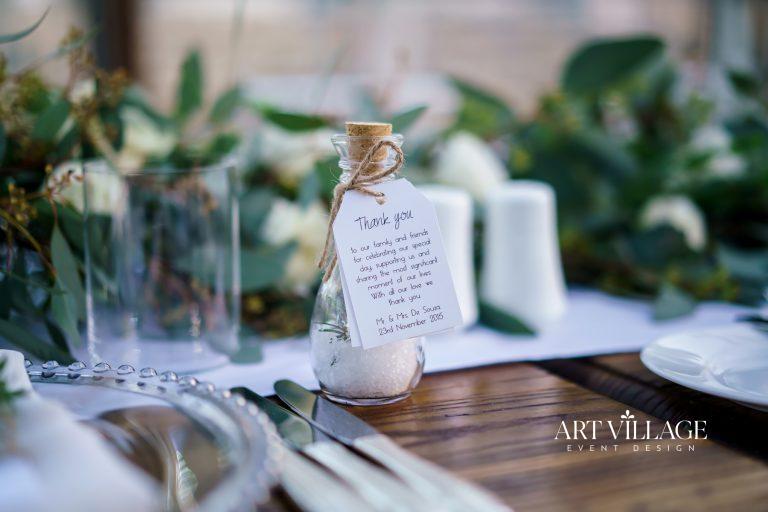 unique wedding favor tag