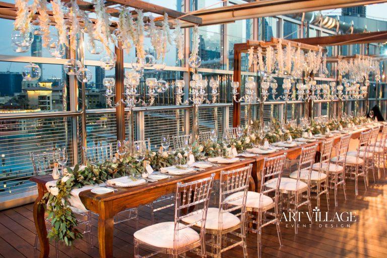 marriage reception decoration Dubai