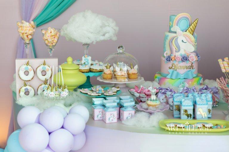 customized candy buffet in Dubai