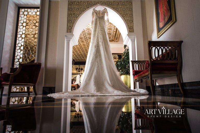 Elegant bridal gown in UAE