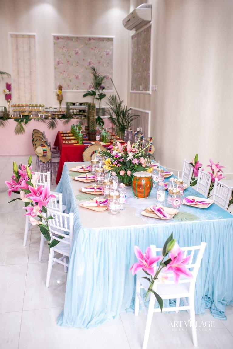 kids table and chairs decoration